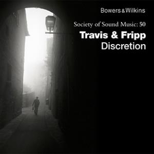 Robert Fripp - Travis & Fripp: Discretion CD (album) cover