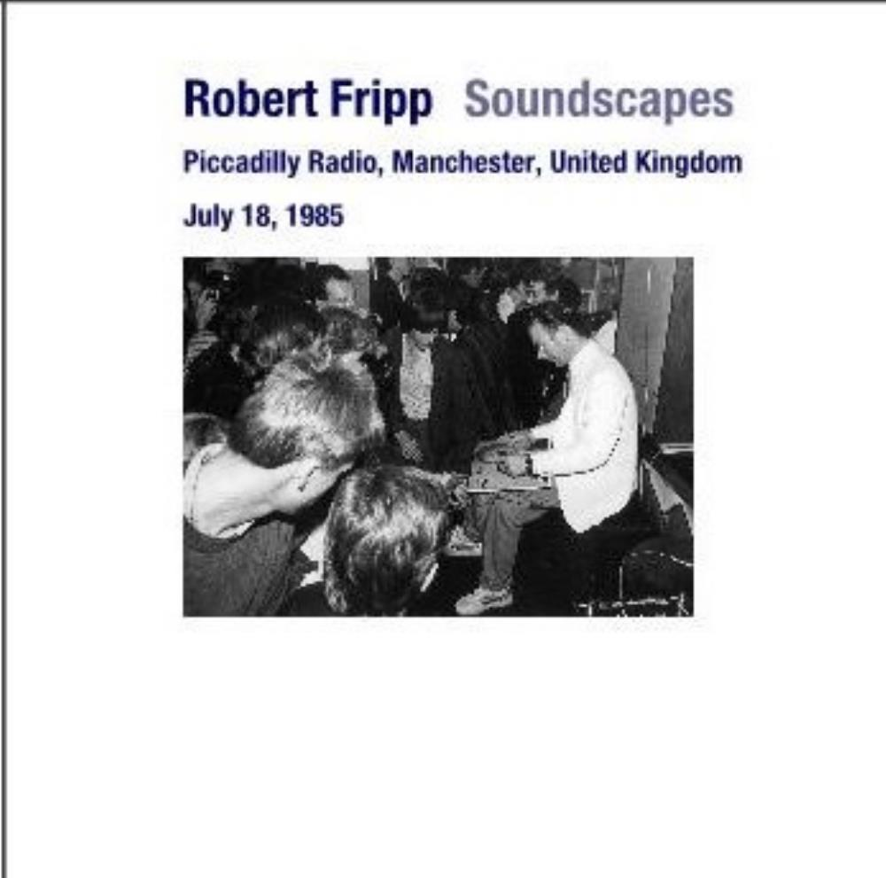 Robert Fripp - 18 July 1985 CD (album) cover