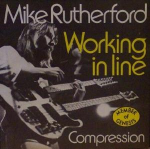 Mike Rutherford - Working In Line CD (album) cover