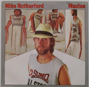 Mike Rutherford - Maxine CD (album) cover