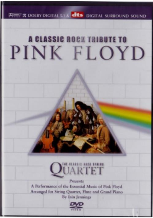 Iain Jennings - Iain Jennings, The Classic Rock String Quartet, Angela Goldthorpe - The Pink Floyd Chamber Suite - DVD (album) cover