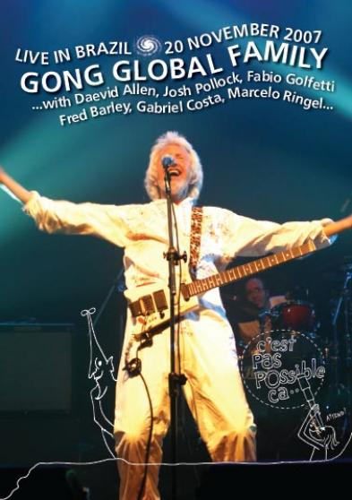 Gong - Live In Brazil: 20th November 2007 DVD (album) cover