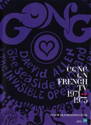 Gong - On French Tv 1971 - 1973 DVD (album) cover