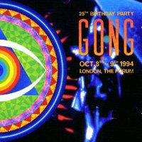 Gong - 25th Birthday Party CD (album) cover
