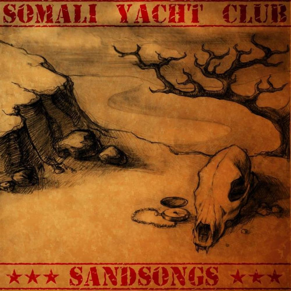Somali Yacht Club - Sandsongs CD (album) cover