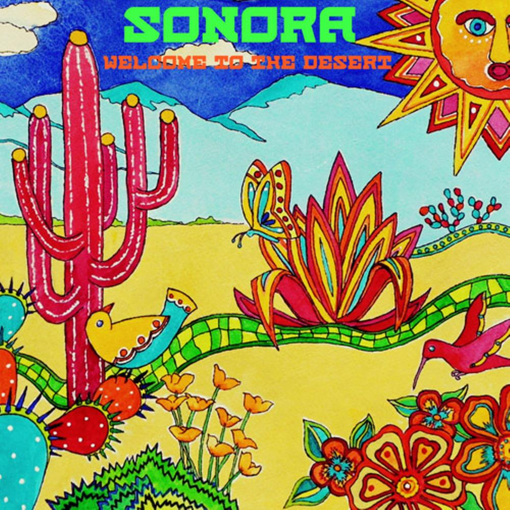 Sonora Sunrise - Welcome To The Desert CD (album) cover