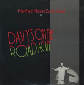 Manfred Mann's Earth Band - Davy's On The Road Again (live) CD (album) cover