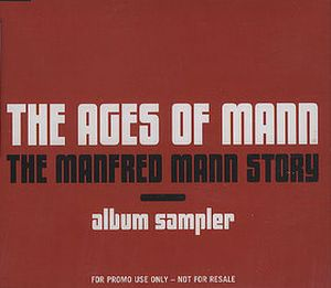 Manfred Mann's Earth Band - The Ages Of Mann - The Manfred Mann Story Album Sampler CD (album) cover