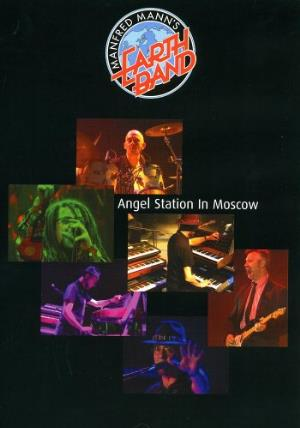 Manfred Mann's Earth Band Angel Station In Moscow CD album cover