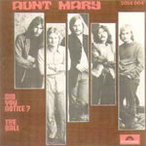 Aunt Mary - Did You Notice CD (album) cover