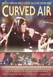 Curved Air - Masters From The Vaults : Curved Air DVD (album) cover