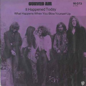 Curved Air - It Happened Today CD (album) cover
