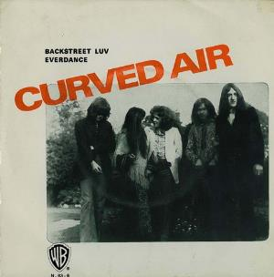 Curved Air - Back Street Luv CD (album) cover