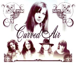 Curved Air - Retrospective - Anthology 1970-2009 CD (album) cover