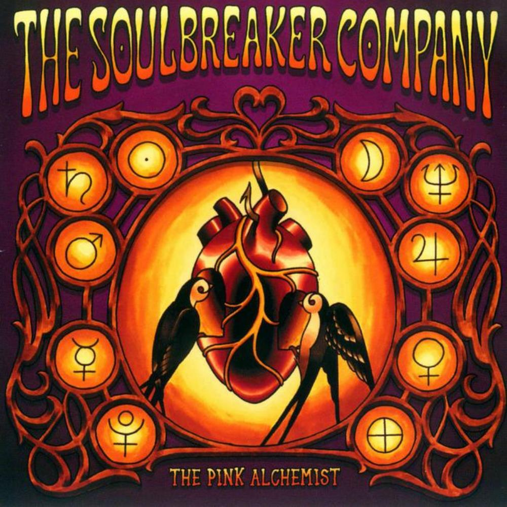 The Soulbreaker Company - The Pink Alchemist CD (album) cover