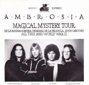 Ambrosia - Magical Mystery Tour CD (album) cover