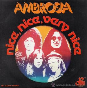 Ambrosia - Nice, Nice, Very Nice CD (album) cover