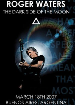 ROGER WATERS - Live In Argentina CD (album) cover