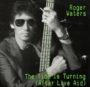 Roger Waters - The Tide Is Turning (after Live Aid) CD (album) cover