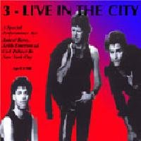 3 - Live In The City CD (album) cover