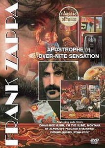 Frank Zappa - Apostrophe (') Over-Nite Sensation DVD (album) cover