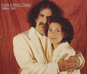Frank Zappa - Valley Girl CD (album) cover