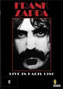 Frank Zappa - Live In Paris 1980 DVD (album) cover