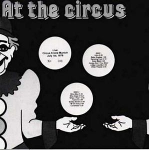 Frank Zappa - At The Circus CD (album) cover