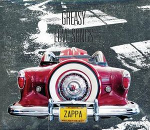 Frank Zappa - Greasy Love Songs CD (album) cover