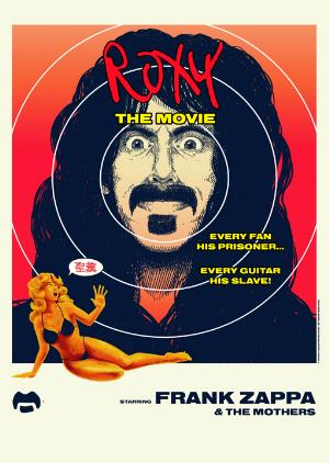 Frank Zappa - Roxy: The Movie DVD (album) cover