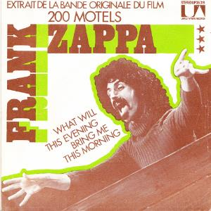 FRANK ZAPPA - What Will This Evening Bring Me This Morning? CD album cover