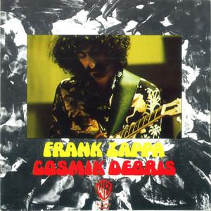 Frank Zappa - Cosmik Debris CD (album) cover