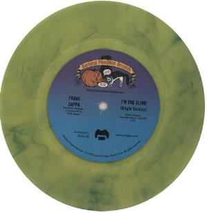 Frank Zappa - I'm The Slime CD (album) cover