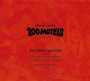 Frank Zappa - 200 Motels The Suites CD (album) cover
