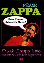 Frank Zappa - Does Humor Belong In Music ? DVD (album) cover