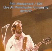 801 - Live At Manchester University 2-11-1977 CD (album) cover