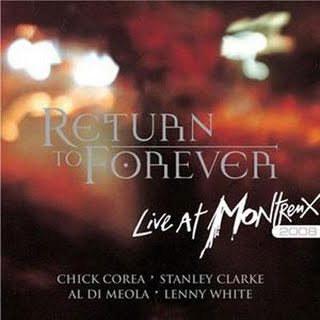 Return To Forever - Live At Montreux 2008 CD (album) cover
