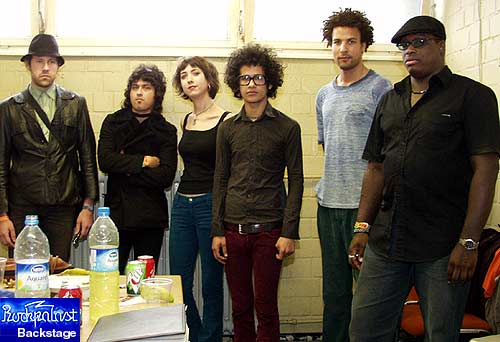 THE MARS VOLTA image groupe band picture