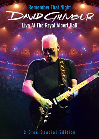 DAVID GILMOUR - Remember That Night : Live At The Royal Albert Hall CD (album) cover