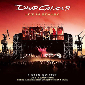 David Gilmour - Live At Gdańsk CD (album) cover