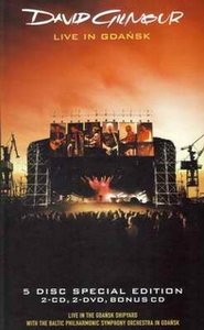 David Gilmour - Live In Gdansk DVD (album) cover