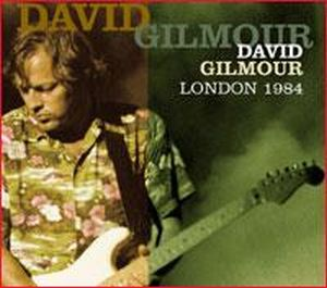 David Gilmour - London 1984 CD (album) cover