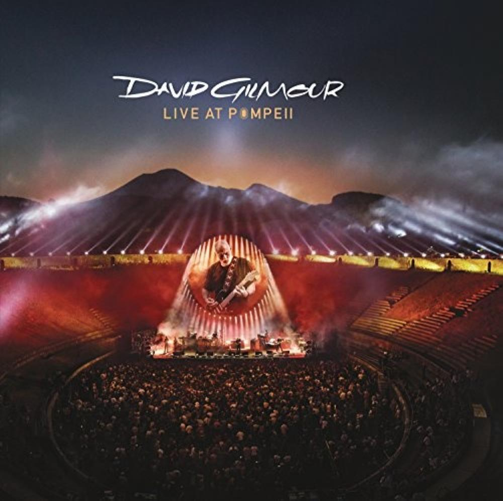 David Gilmour - Live At Pompeii CD (album) cover