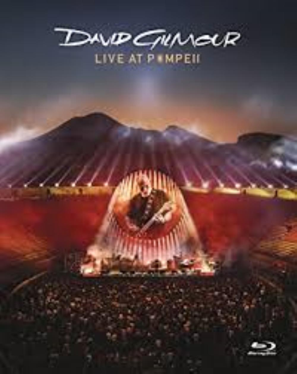 David Gilmour - Live At Pompeii DVD (album) cover