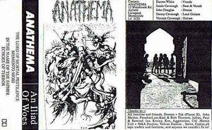 Anathema - An Iliad Of Woes CD (album) cover