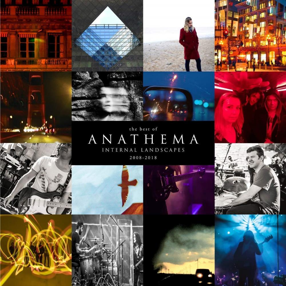 Anathema - Internal Landscapes 2008-2018 CD (album) cover