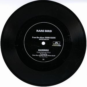 Rare Bird - Diamonds Flexi 7'' CD (album) cover