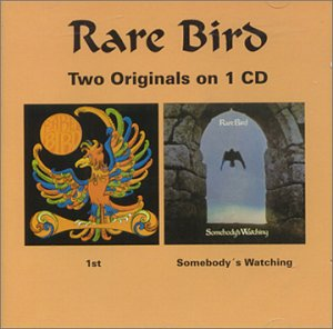 Rare Bird - Rare Bird / Somebody Is Watching CD (album) cover
