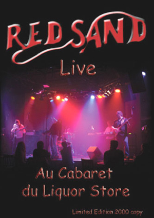 Red Sand - Live Au Cabaret Du Liquor Store DVD (album) cover