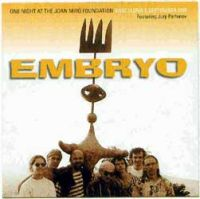Embryo - One Night At The Joan Miro Foundation CD (album) cover